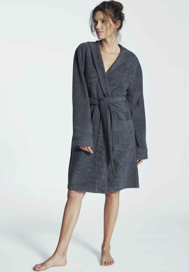 MIT KAPUZE - Dressing gown - anthra