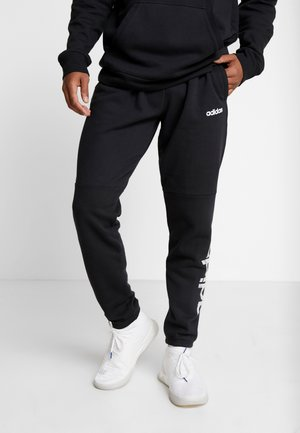 CAMO LIN PANT - Tracksuit bottoms - black/white
