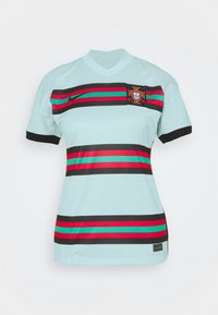Nike Performance - PORTUGAL STAD - Print T-shirt - teal tint/black - 3
