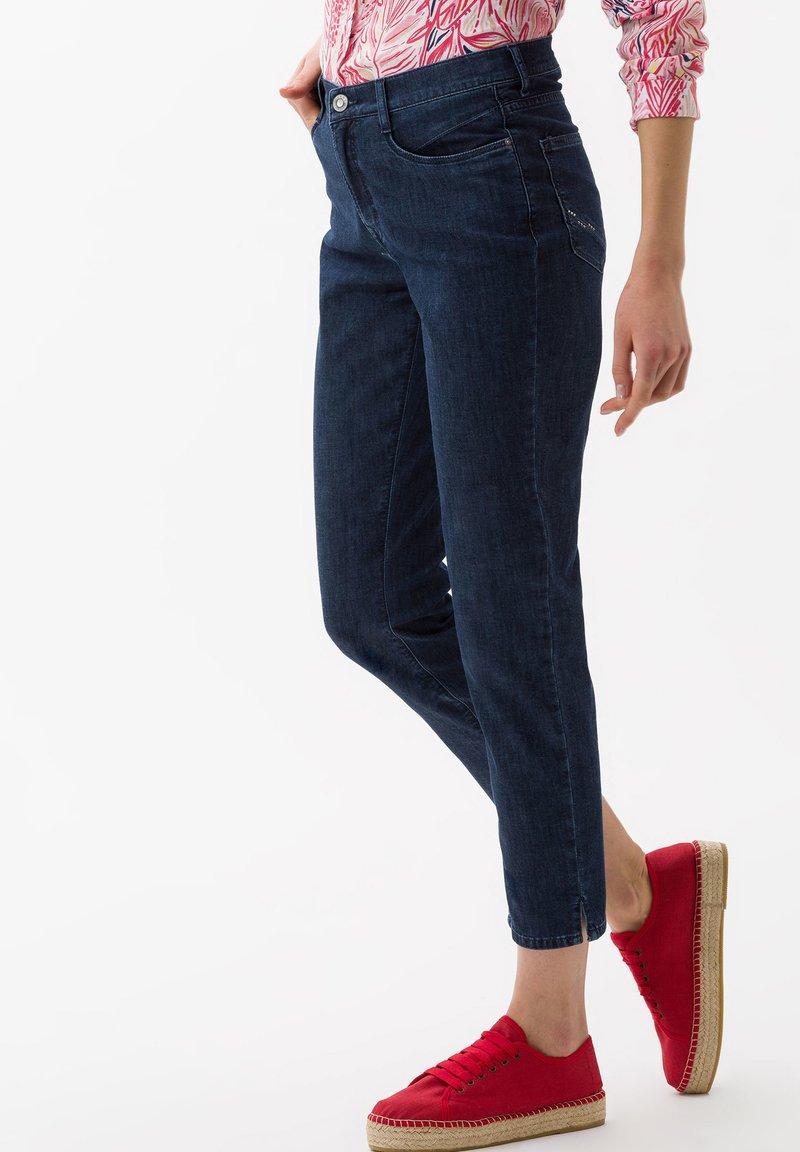 BRAX - STYLE CARO  - Slim fit jeans - dark blue