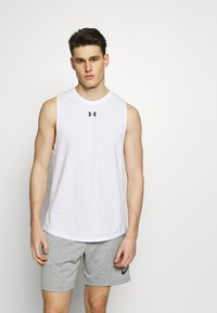 Under Armour - UA CHARGED - Funktionsshirt - white/black - 0