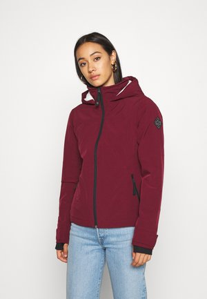 Light jacket - burgundy