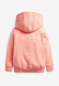 Next - FLURO - Zip-up hoodie - coral - 1