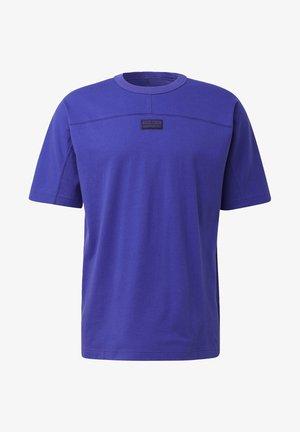 R.Y.V. GRAPHIC T-SHIRT - Print T-shirt - purple