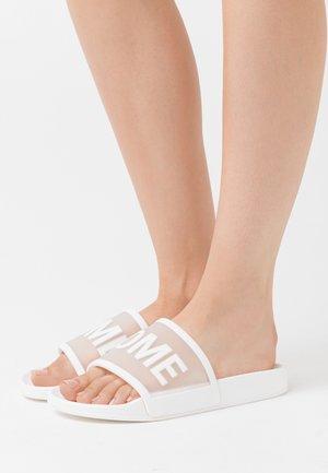 Domácí obuv - white