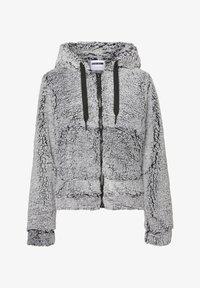 Noisy May - Fleece jacket - light grey melange - 0