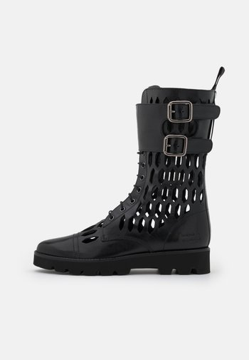 SELINA 50 - Lace-up boots - black