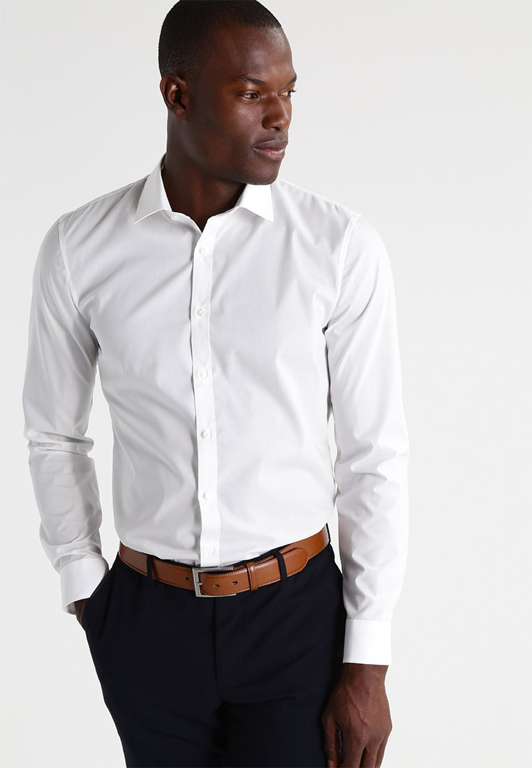 OLYMP - OLYMP NO.6 SUPER SLIM FIT - Formal shirt - off white