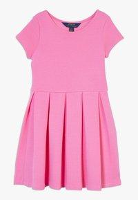 Polo Ralph Lauren - SOLID DRESSES - Žerzejové šaty - baja pink - 0