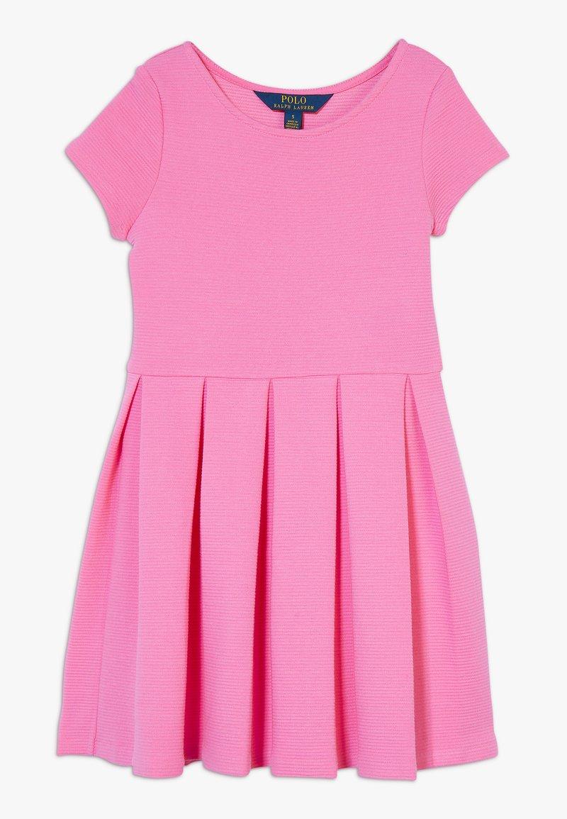 Polo Ralph Lauren - SOLID DRESSES - Žerzejové šaty - baja pink
