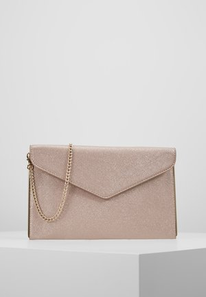 JOANNA FOLDOVER - Clutches - rose gold shimmer