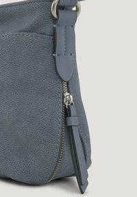 TOM TAILOR - Across body bag - mid blue - 3