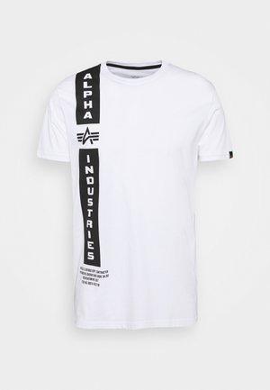 DEFENSE T - Print T-shirt - white