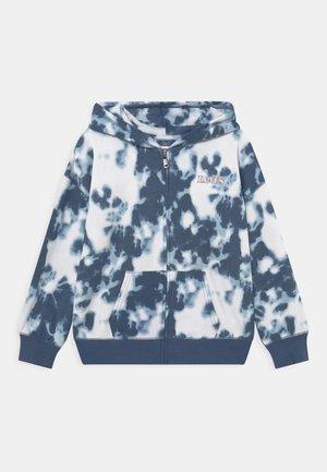 FULL ZIP HOODIE - Zip-up sweatshirt - dark blue