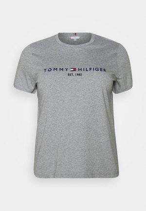 T-shirts print - light grey heather
