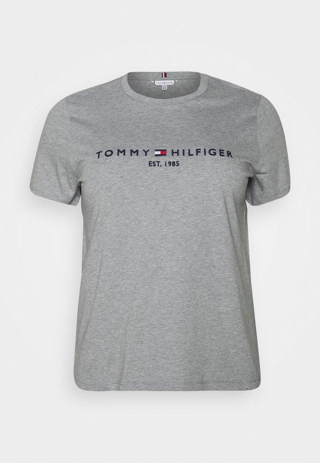T-shirts med print - light grey heather