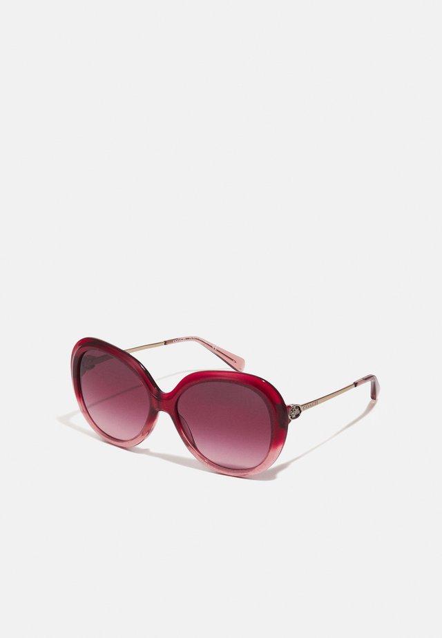 Solbriller - shimmer burgundy/pink