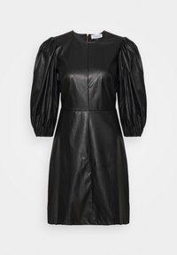 Closet - CLOSET PUFF SLEEVE MINI DRESS - Day dress - black - 5