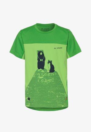 SOLARO - Print T-shirt - green