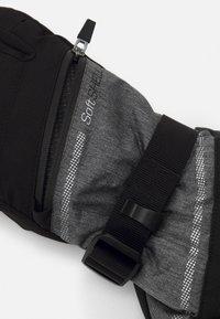 Reusch - DEMI RTEX® XT - Guanti - black/grey melange/silver - 2