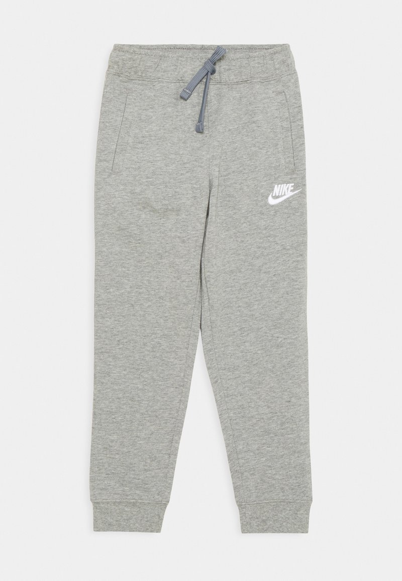 Nike Sportswear - JOGGER UNISEX - Trainingsbroek - dark grey heather/white