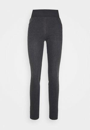 SHANTAL - Slim fit jeans - dark grey denim