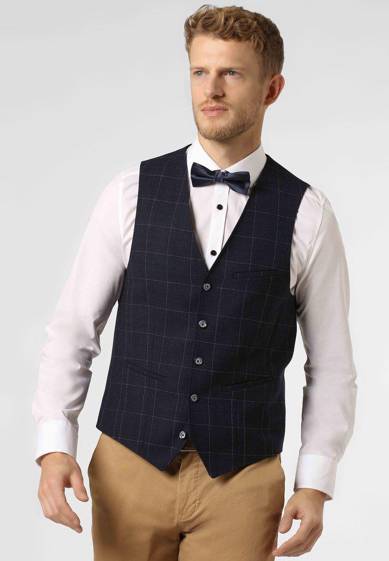 Digel - Suit waistcoat - blau