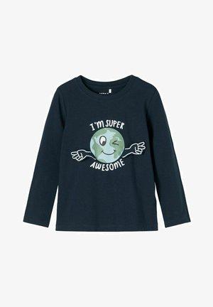 Camiseta de manga larga - dark sapphire