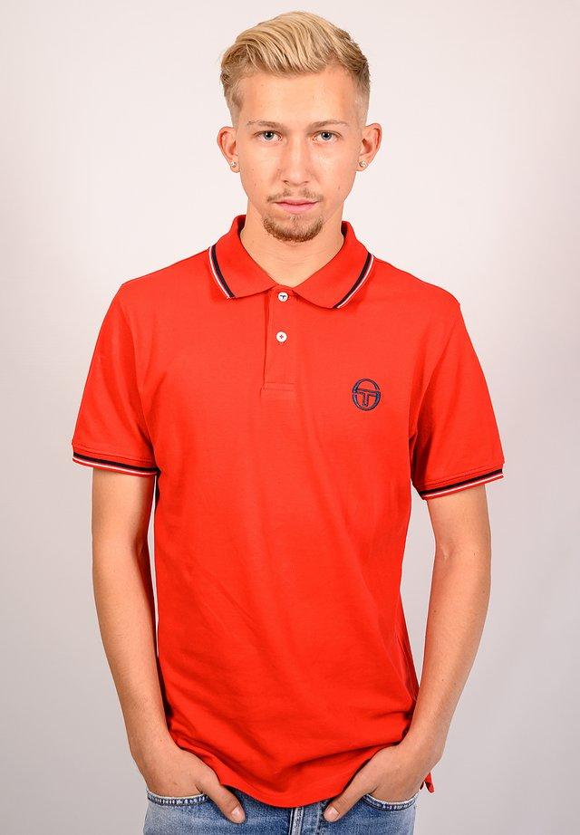 SERGIO 020 POLO - Poloshirt - vinred/whi
