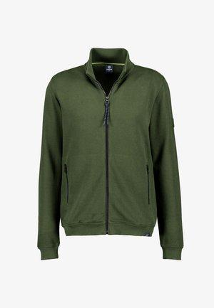 Cardigan - reed green