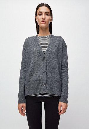 OLENKAA - Cardigan - mid grey melange