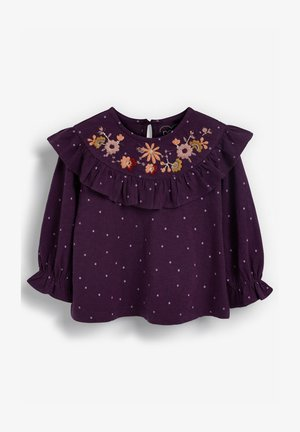 EMBROIDERED - Print T-shirt - purple