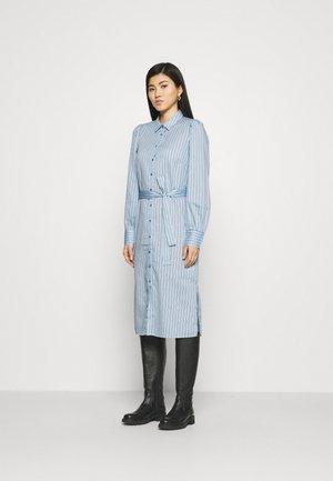 Shirt dress - powder blue