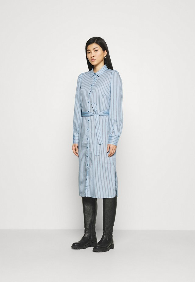 Shirt dress - powder blue