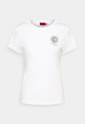 THE EARTH TEE - Print T-shirt - natural