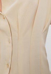 Bershka - Shirt dress - beige - 5