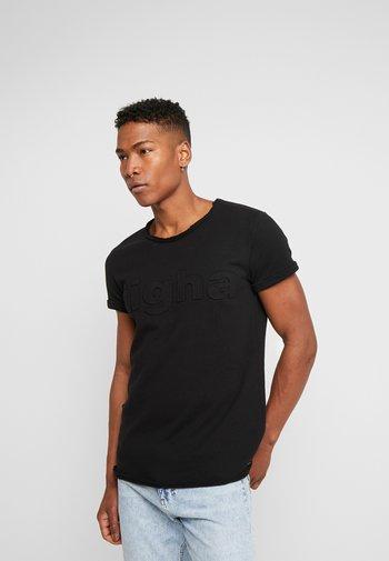 MILO LOGO - T-shirt med print - black