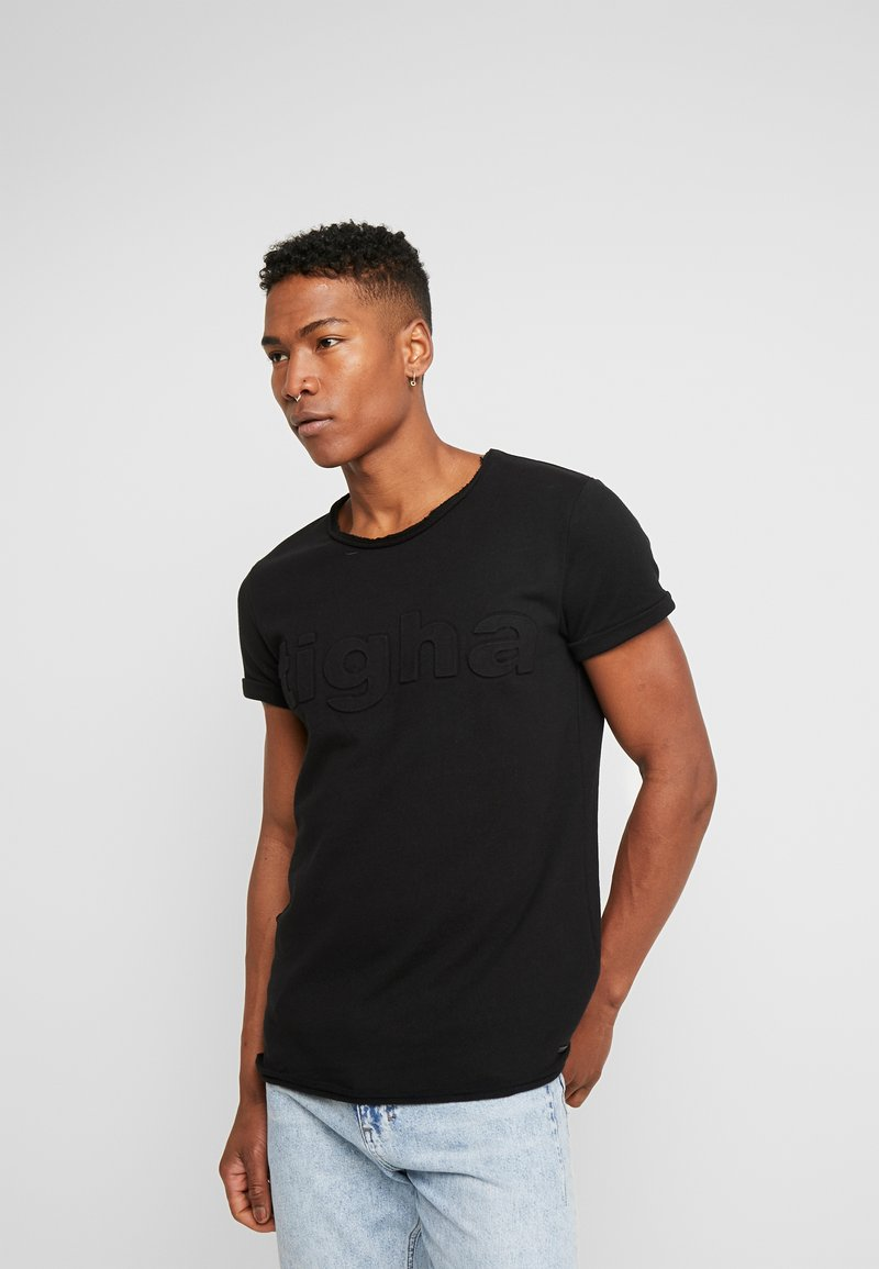 Tigha - MILO LOGO - Print T-shirt - black