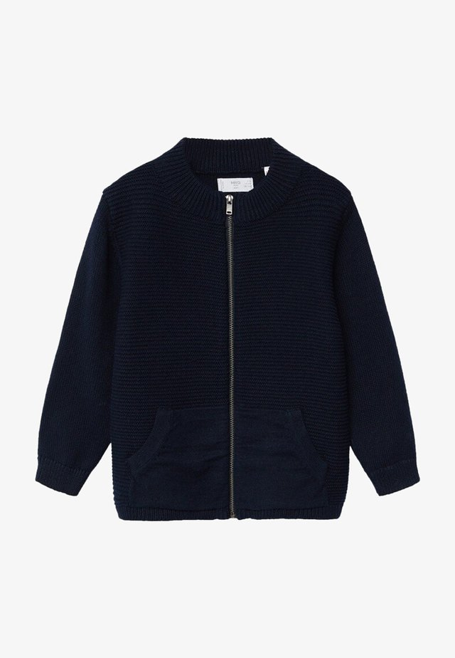 DAVICIN - Strikjakke /Cardigans - bleu marine foncé