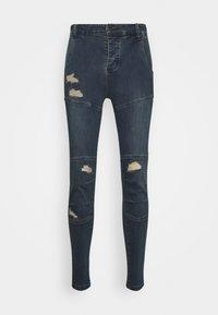SIKSILK - CUT SEW - Jeans Skinny Fit - indigo - 3