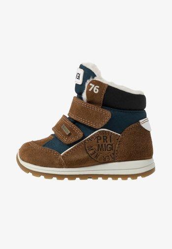 Winter boots - marron/charcol/petrol