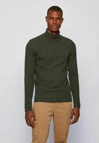 BOSS - TROLLFLASH - Long sleeved top - open green - 0