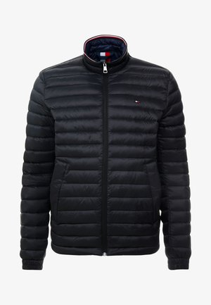 CORE PACKABLE JACKET - Bunda z prachového peří - jet black