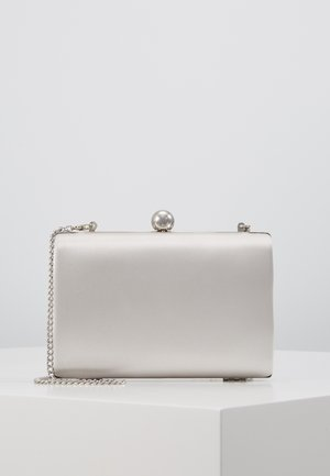 RECTANGLE CLUTCH - Pikkulaukku - silver