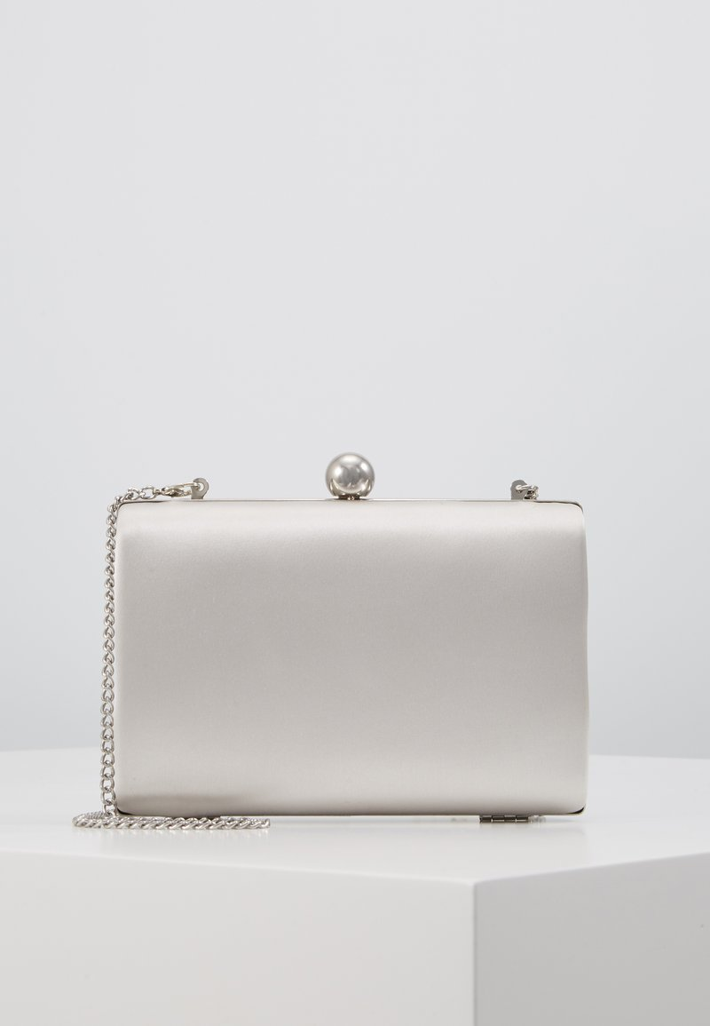 Dorothy Perkins - RECTANGLE CLUTCH - Clutch - silver