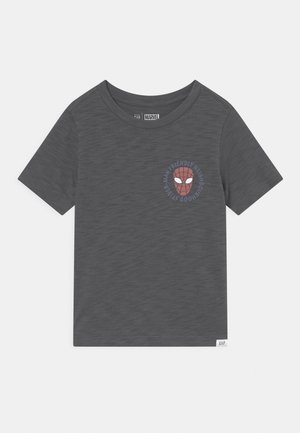 TODDLER BOY GRAPHIC - T-shirt print - blue slate