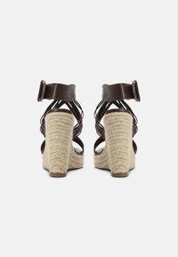 Even&Odd - Platform sandals - brown - 3