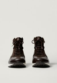 Massimo Dutti - High-top trainers - brown - 5