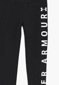 Under Armour - SPORTSTYLE BRANDED LEGGINGS - Legging - black/white - 3
