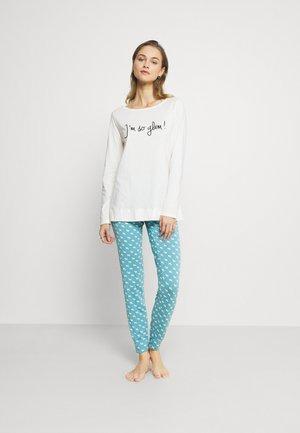 SET  - Pyžamo - blue/light-grey